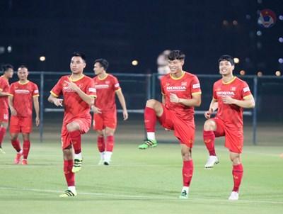 Trọng Hoàng và Đình Trọng vắng mặt trong trận đội tuyển Việt Nam gặp đội tuyển Indonesia