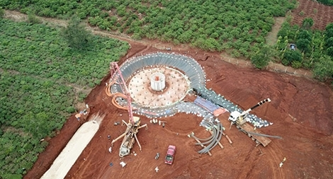 Dự án điện gió tại Gia Lai sử dụng lao động nước ngoài không phép