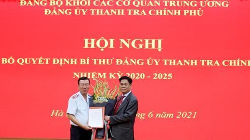 Đồng chí Đoàn Hồng Phong giữ chức Bí thư Đảng ủy Thanh tra Chính phủ
