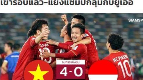 Báo chí Thái Lan hết lời khen ngợi tuyển Việt Nam, nhắc tên Kiatisak