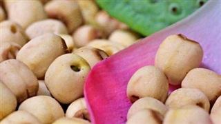 Hạt sen: Thực phẩm giảm cân lành mạnh
