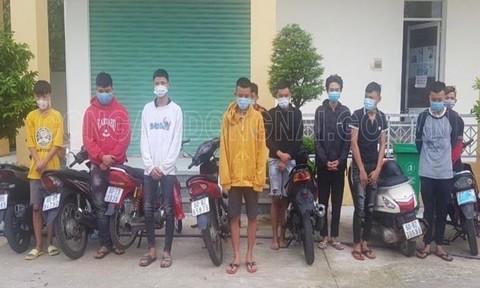 Đồng Nai: Vây bắt, giải tán nhóm thanh thiếu niên tụ tập đua xe giữa mùa dịch