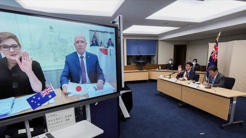 Nhật Bản-Australia đối thoại 2+2, ra tuyên bố khiến Trung Quốc 'nóng mặt'