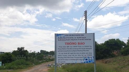 Bình Thuận chấm dứt hoạt động dự án treo