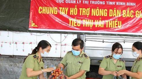 Cục QLTT Ninh Bình: Kết nối tiêu thụ nông sản cho nông dân vùng dịch