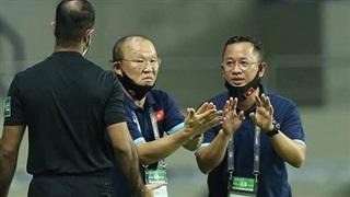 HLV Park Hang-seo bị cấm chỉ đạo trận gặp UAE