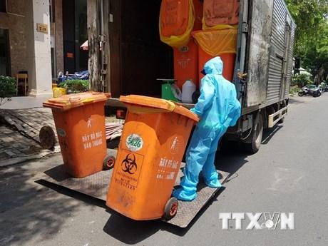 Hà Nội yêu cầu quản lý chặt chất thải ở các khu vực cách ly tập trung