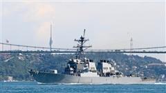 Thổ Nhĩ Kỳ: Tàu Hải quân Mỹ tiến vào biển Đen