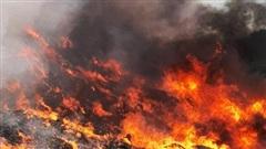 Bãi rác lớn nhất Đà Nẵng cháy dữ dội, cột khói bốc cao hàng trăm mét