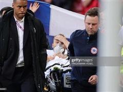 Video khoảnh khắc tiền vệ Christian Eriksen đổ gục ngay trên sân