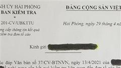 Vụ Chủ tịch UBND quận Hải An bị tố cáo kê khai tài sản không trung thực: Tố cáo không có cơ sở