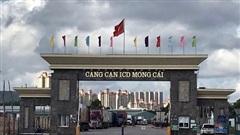 Quảng Ninh: Hàng trăm container hàng nông sản ách tại điểm thông quan