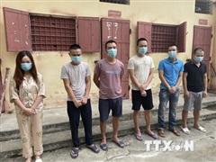 Thanh Hóa: Phát hiện 9 đối tượng sử dụng ma túy trong quán karaoke