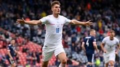 Thắng 2-0 Scotland, Cộng hòa Séc vươn lên đầu bảng D