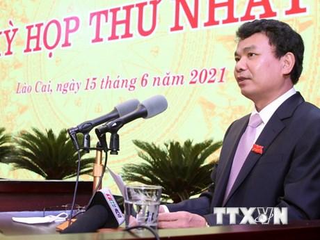 Ông Vũ Xuân Cường được bầu giữ chức Chủ tịch HĐND tỉnh Lào Cai