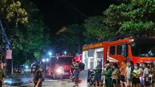 Danh tính gia đình chủ phòng trà ở Nghệ An tử vong trong vụ cháy