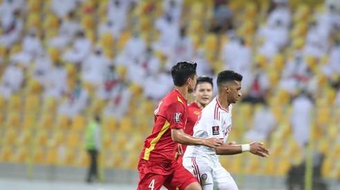 Thua UAE 2-3, Việt Nam vẫn vào vòng loại thứ 3 World Cup 2022 khu vực châu Á