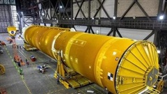 Chiêm ngưỡng cận cảnh 'siêu tên lửa' 18,6 tỷ USD mới của NASA