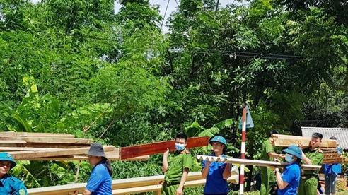 Thanh Hóa di dời 35 hộ dân khu vực nguy cơ sạt lở cao về nơi ở mới