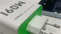 Infinix chuẩn bị ra mắt sạc siêu nhanh khủng 160W dành cho điện thoại thông minh