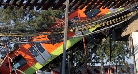 Mexico công bố kết quả điều tra sơ bộ vụ tai nạn tàu điện ngầm kinh hoàng