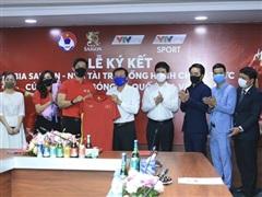 Sabeco chính thức trở thành nhà tài trợ cho Đội tuyển Việt Nam