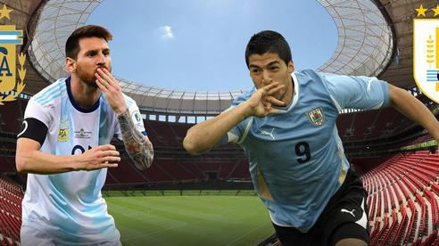Kèo Argentina vs Uruguay: Không khoan nhượng