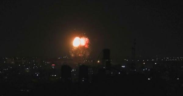 Israel tiếp tục không kích dải Gaza