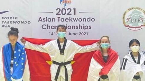 Trương Thị Kim Tuyền giành Huy chương Vàng Taekwondo châu Á 2021