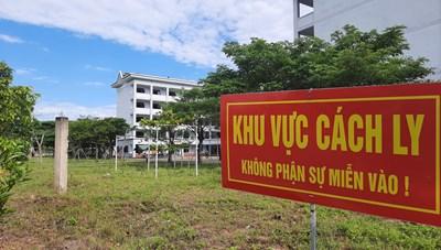 Quảng Nam: Cách ly tập trung người đến từ TP Hồ Chí Minh