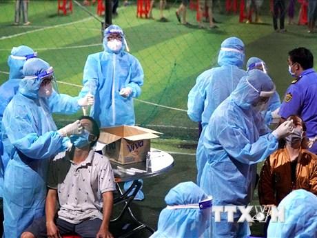 Thành phố Hồ Chí Minh phong tỏa một số khu vực tại quận Bình Tân