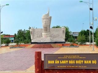 Quy hoạch Khu di tích Bia Ấn loát đặc biệt Nam Bộ thành điểm du lịch