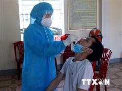 Tỉnh Thanh Hóa ghi nhận trường hợp dương tính SARS-CoV-2