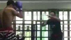 Thách đấu võ sĩ Muay, võ sư Hình Ý Quyền thua...vỡ mặt