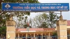Hiệu trưởng ở Quảng Trị bớt xén tiền thưởng, 'ém' tiền hỗ trợ học sinh nghèo