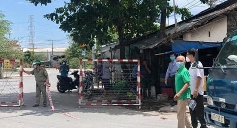 Phong toả một khu phố ở quận 8 TP Hồ Chí Minh