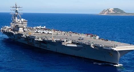 Mỹ lại đưa tàu sân bay đến Biển Đông