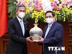 Singapore luôn là một trong những đối tác đầu tư hàng đầu vào Việt Nam
