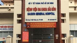 BV Đa khoa Sài Gòn ngưng hoạt động 3 ngày vì phát hiện 5 ca dương tính