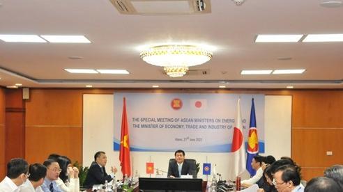 Bộ trưởng Nguyễn Hồng Diên đồng chủ trì Hội nghị đặc biệt AMEM-METI