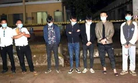 Khởi tố 2 đối tượng chở 5 người Trung Quốc xuất cảnh trái phép