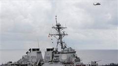 Tàu chiến Mỹ lại quá cảnh Eo biển Đài Loan