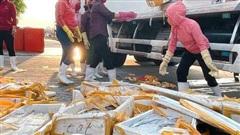 Cá hố trước chuyên xuất khẩu, giờ giá còn 5.000 đồng/kg chỉ làm thức ăn chăn nuôi