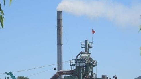 Phạt 15 triệu đồng, tạm đình chỉ hoạt động trạm trộn bê tông gây ô nhiễm môi trường