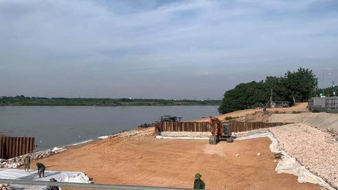 Vụ đê sông Hồng bị nứt: Ông Chu Phú Mỹ ký hàng loạt văn bản bất chấp cảnh báo của Tổng cục Phòng, chống thiên tai
