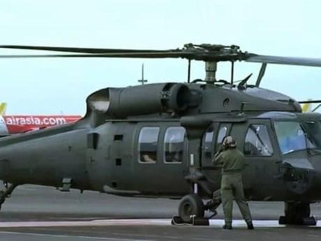 Rơi trực thăng quân sự tại Philippines khiến 6 người thiệt mạng