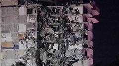 Mỹ: Sập tòa nhà cao tầng ở Miami khiến 1 người thiệt mạng, khoảng 100 người mất tích