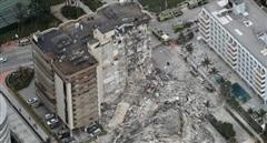 Tháp 12 tầng ở Miami sập, hàng trăm người vẫn đang mất tích
