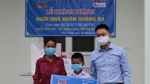 Khánh thành ngôi nhà 'Khăn quàng đỏ' cho học sinh khó khăn ở Thanh Hóa