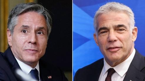 Ngoại trưởng Blinken và Bộ trưởng Ngoại giao Israel trao đổi về hạt nhân Iran và hòa bình Trung Đông